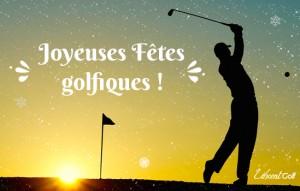Joyeuses Fêtes golfiques Vincent Golf